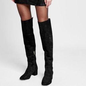New Sam Edelman leather black elina boots 9 otk